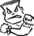 "Bad Boys Club 5"" x 5"""