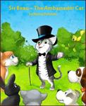Sir Beau the Ambassador Cat Book