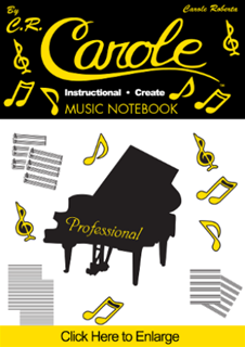 6. Music Notebook, Instructional-Create