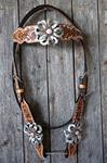 Silver Lotus Headstall