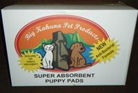 Big Kahuna Puppy Pads 100 count regular