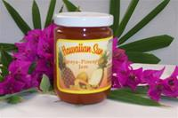 Hawaiian Sun Papaya-Pineapple Jam 12 pack
