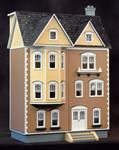 1/2 Inch Scale East Side Townhouse Dollhouse Kit