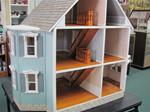 Blue Victorian Dollhouse