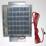 12 - V Solar Panel with Box Bracket