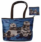 Best Friends Purrfect Tote and Matching Change Purse