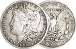 1883 US Morgan Silver  Dollar