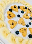 Blueberry Banana Coconut Kisses
