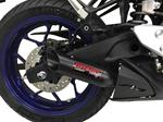 Yamaha YZF-R3 (2015-17) Shorty Exhaust with Heat Shield