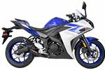 Yamaha R3 DeCAT (2015-17) Shorty Exhaust