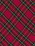 Tartan Plaid Red