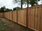 Standard 6 foot fence