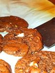 02. Double Chocolate and Pecan Cookies