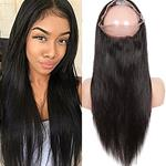 Top Fashion 360 Lace Frontal Straight Closure {CLICK HERE FOR PRICE AND LENGTH}