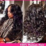 Top Fashion 100% Human Hair Body Wave Unprocessed Lace Frontal Wig {CLICK HERE FOR PRICE AND LENGTH}