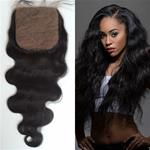 Top Fashion Top Quality Silk Base Body Wave Closure 100% Human Hair { CLICK HERE FOR PRICE AND LENGTH }