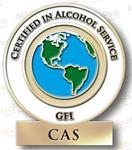 Certified in Alcohol Service