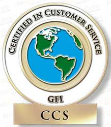 Certified in Customer Service (CCS)