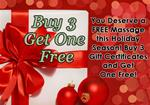 Buy 3 Giftcards, Get One Free