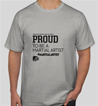 AMAA PROUD TO BE A MARTIAL ARTIST T-SHIRT