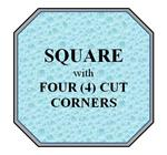 06 - Square w/ 4 Cut Corners