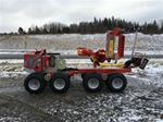 Low Impact thinning Harvester from Kranman Model P25