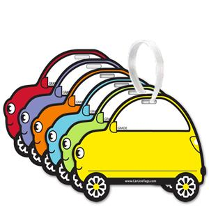 Car Line Backpack Tags - Pack of 50