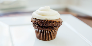 AG Chocolate Cupcake With Cream Cheese Frosting