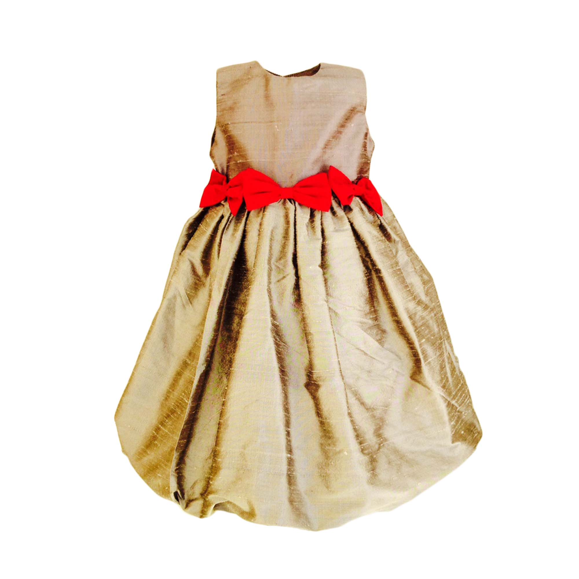 Christmas and holiday girls dress grey with fuchsia bows aby s kids