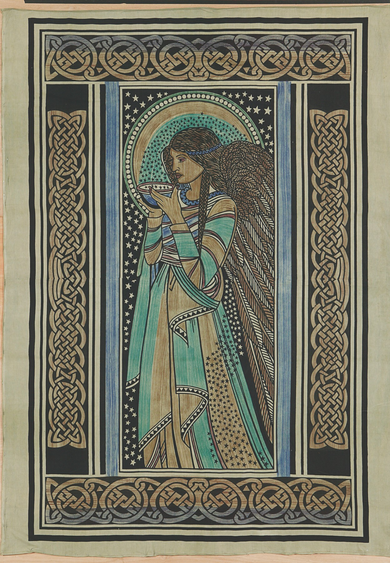 Tapestry Celtic Angel Ss076 South American Handcrafts