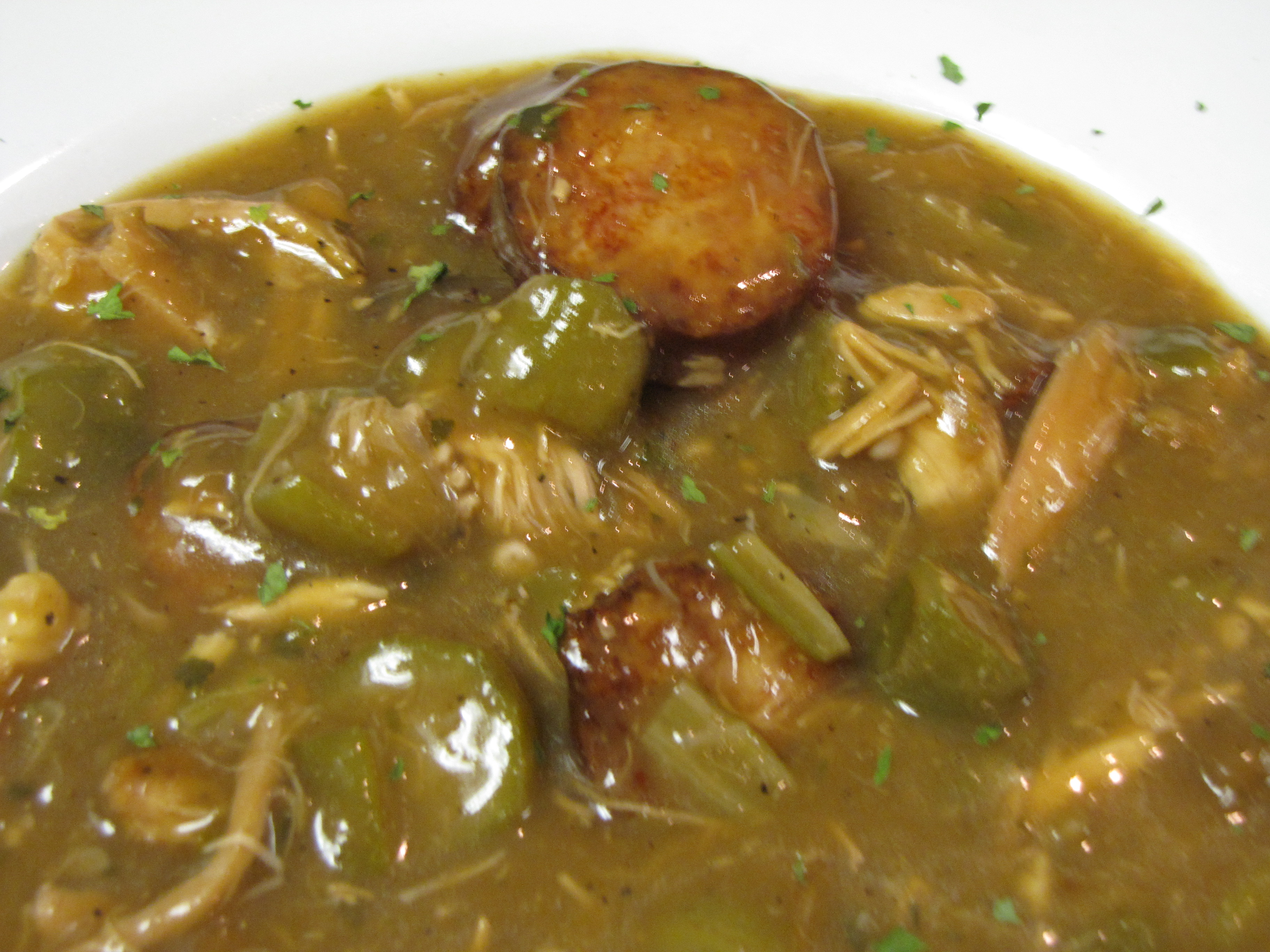 Chicken and Sausage Gumbo - Frank's Restaurant