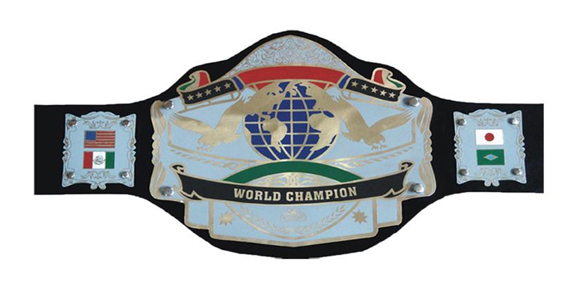 World Title Belt World Championship Belt View