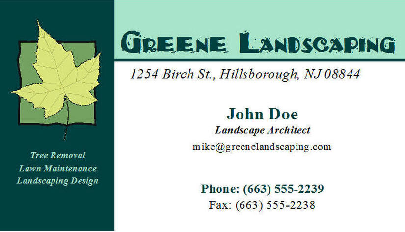 500 business cards landscaping bbi print 500 business cards landscaping colourmoves