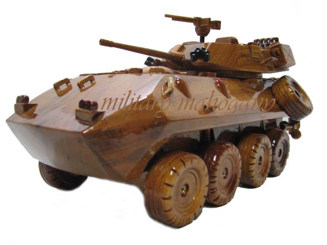 Lav 25 Coyote Wooden Model Military Mahogany