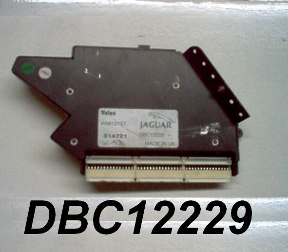 Jaguar Dealer Parts: Jaguar AC Control Module Part # DBC12229