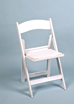 Folding chair all occasion with cushion white resin arizona folding chair with padded seat white resin publicscrutiny Images