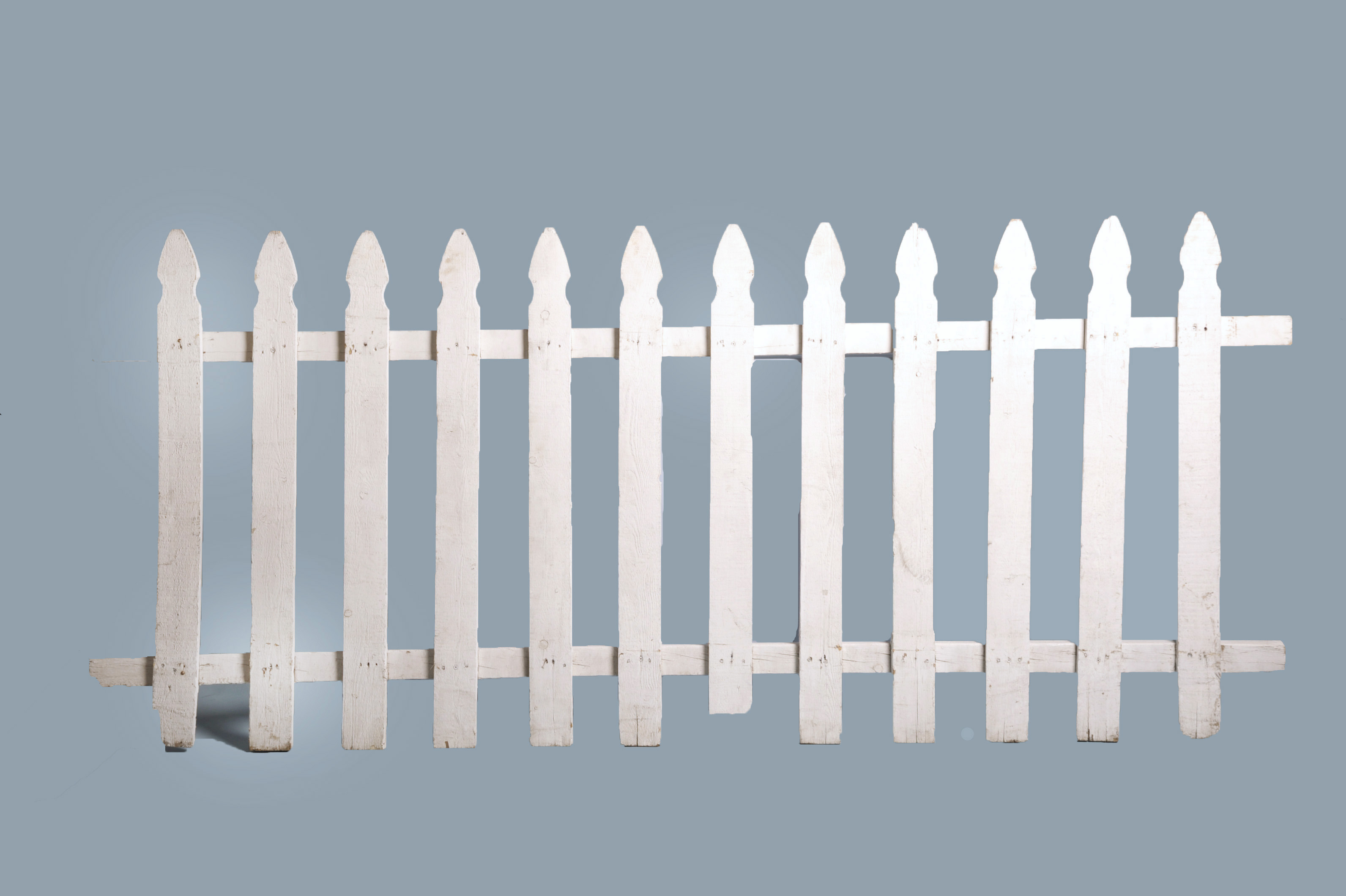 Fencing White Picket 8 Section Arizona Party Rental