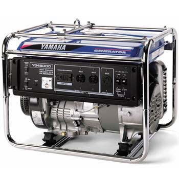 portable yamaha yg4600d generator arizona party rental
