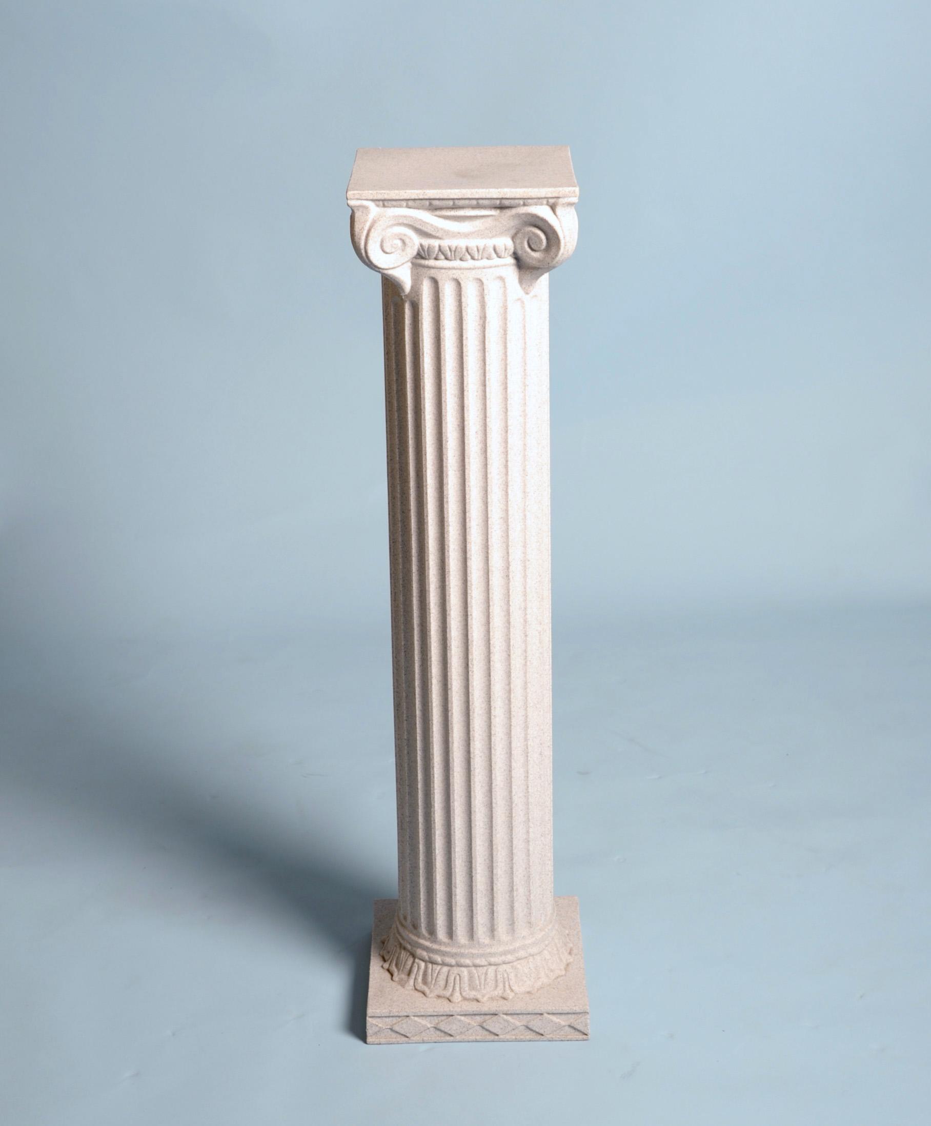 Roman column granite resin 40 hx10 d arizona party Decorative colums
