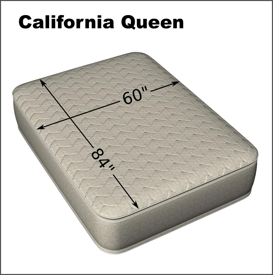 "California Queen 60 x 84"" Fitted Terry Mattress Protector"