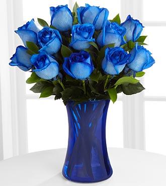 1 dozen blue roses modesto exotic flower shop 2095215754