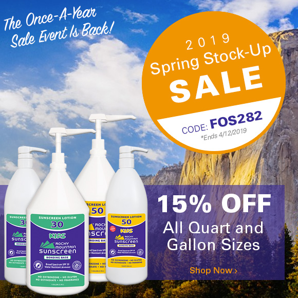 The Spring Stock-Up Sale is Back!