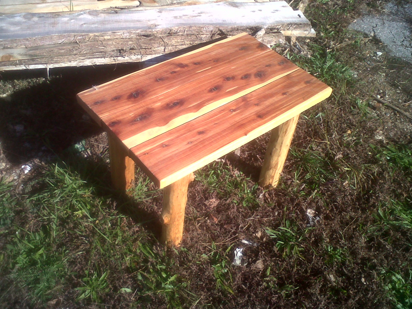 Cedar Plank Coffee Table End Table Deep South Cedar Products Store