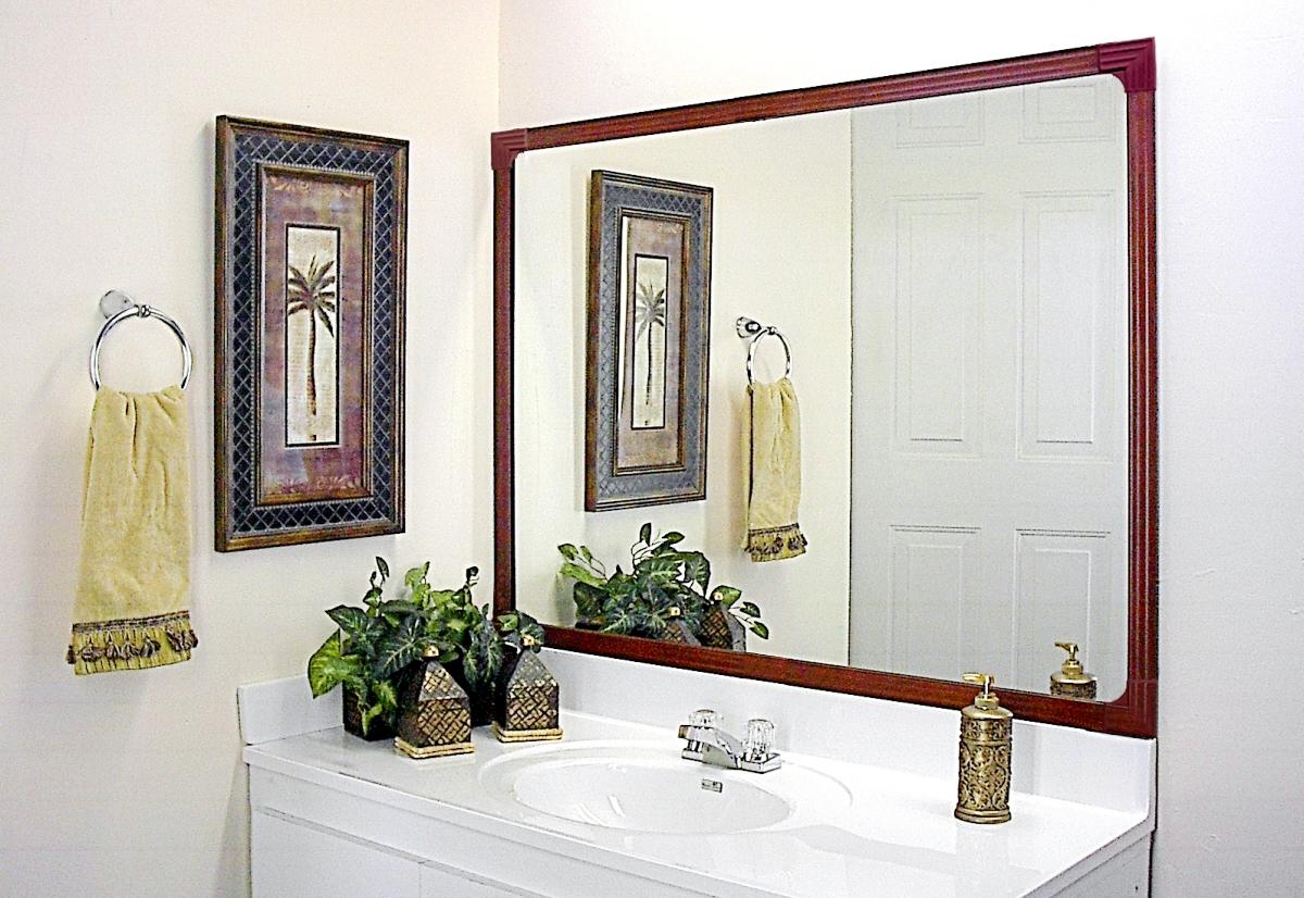 mirredge diy mirror framing kit up to 36 in x 75 in - Mirror Frame Kit