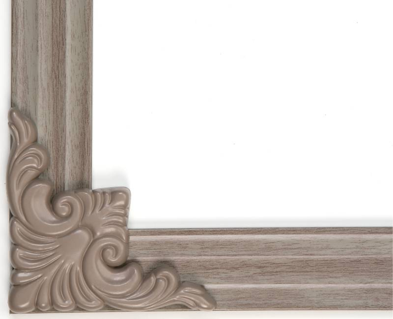 MirrEdge DIY Mirror Framing Kit - (Up to 75 in. x 72 in.) Driftwood ...