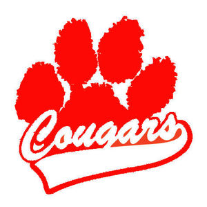 Image result for cougar paw print red