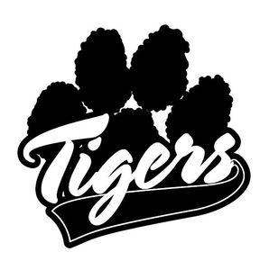 Black tiger paw print tattoo bubble gum
