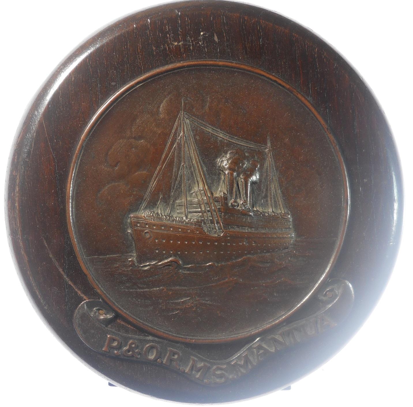 Ship: P. & O. R.M.S. MANTUA. - Hedley ...