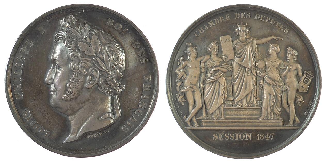 1847 France Louis Philippe Chambre Des Deputes By