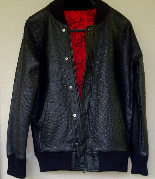Silk Varsity Jacket
